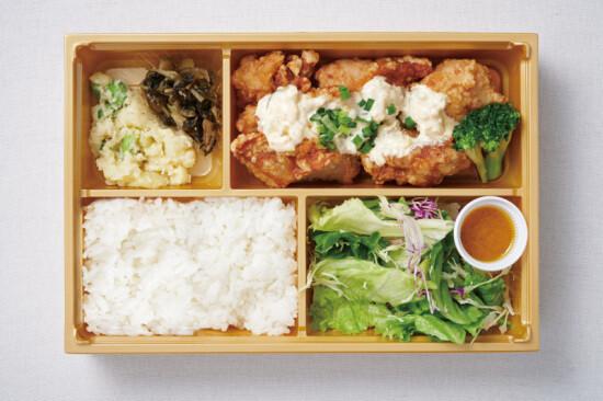 鶏の南蛮揚げ 味噌タルタル弁当