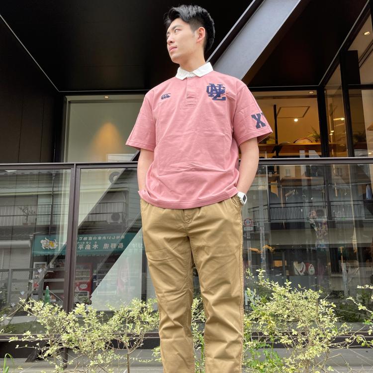 カラーバリエーション豊富なラガーシャツ