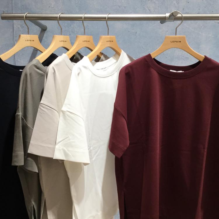 LEPSIM★エチケットTシャツ新色入荷!