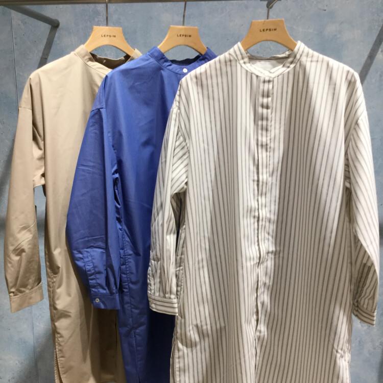 LEPSIM★シャツチュニック