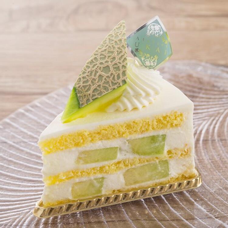 プレミアムメロンショートケーキ 780円(税込)